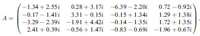 複素行列の逆行列 - サンプルソ...